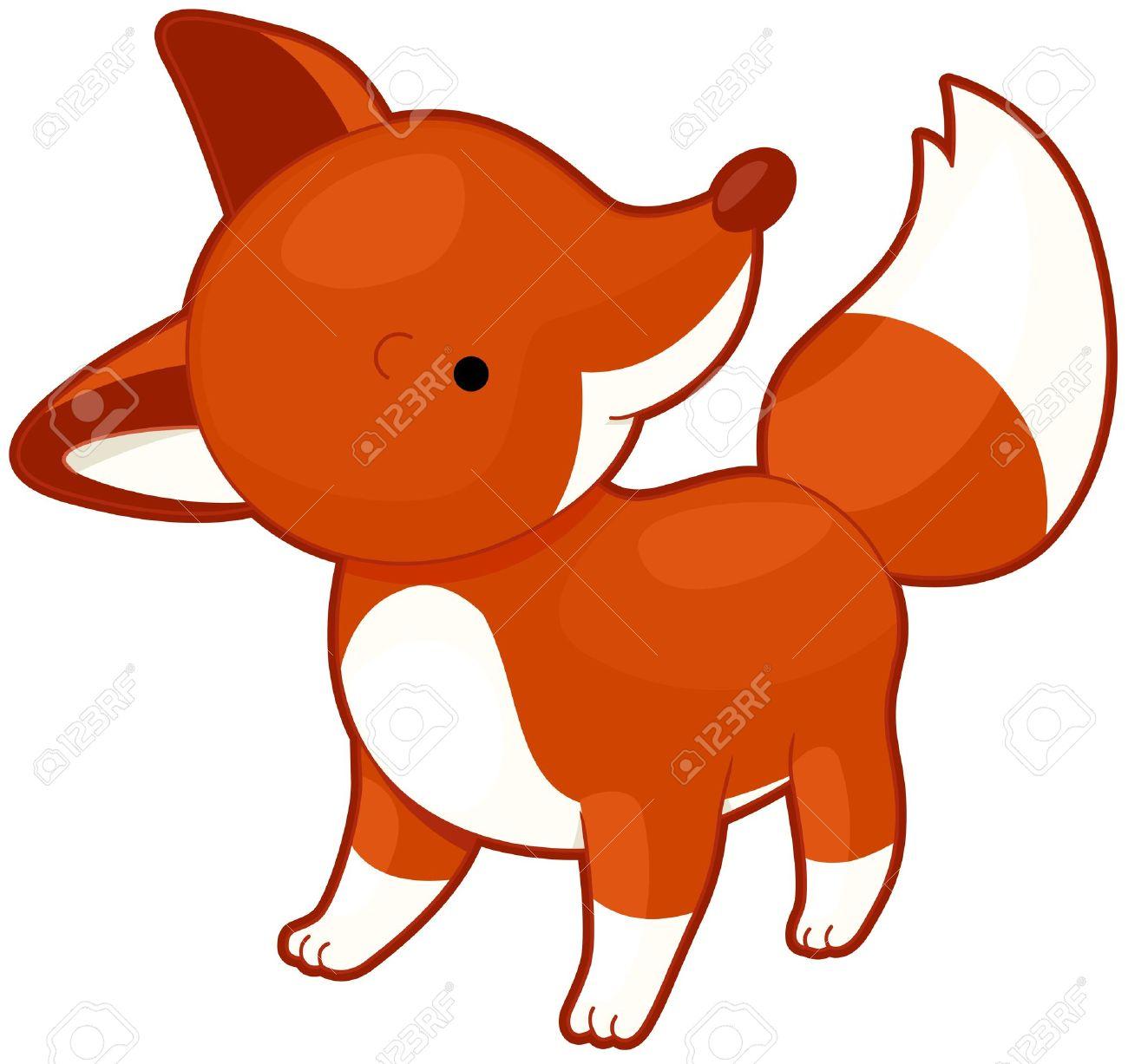 1300x1227 Red Fox Clipart Cute