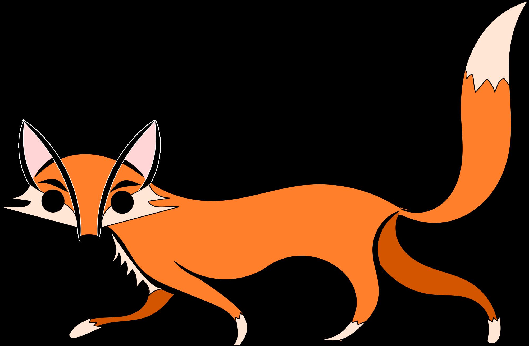 2000x1309 Top 89 Red Fox Clip Art