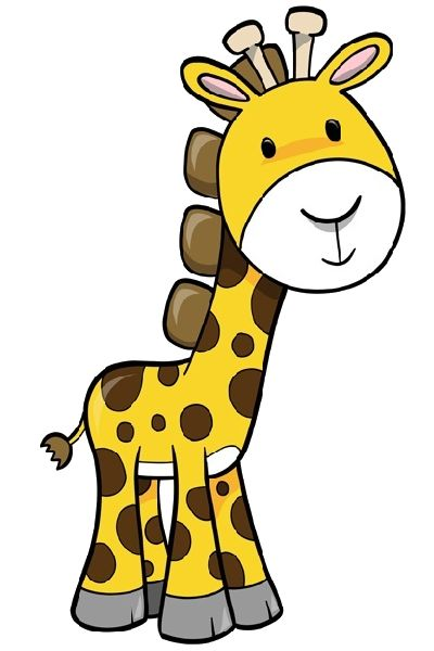400x600 Cute Clipart Baby Giraffe