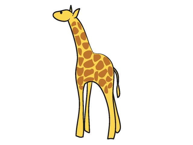 640x480 Free Giraffe Clipart Clipart