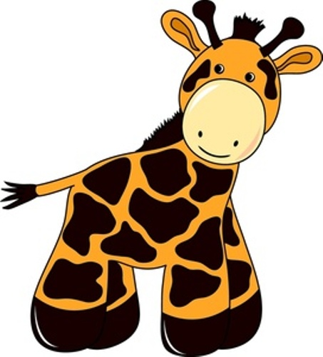 453x500 Giraffe Clipart For Kids