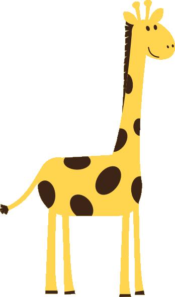 348x591 Image Of Baby Giraffe Clipart