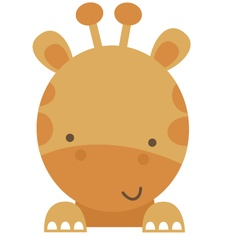 236x236 Baby Animal Clipart Baby Giraffe