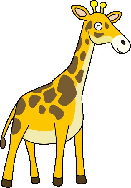 445x636 Top 91 Giraffe Clipart