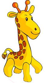 149x272 Baby Giraffe Clipart
