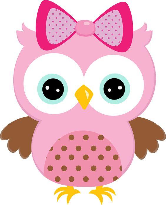 564x694 Baby Girl Owl Clipart