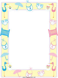 194x259 Clip Art Purple Baby Shower Borders Clipart The Cliparts Girl