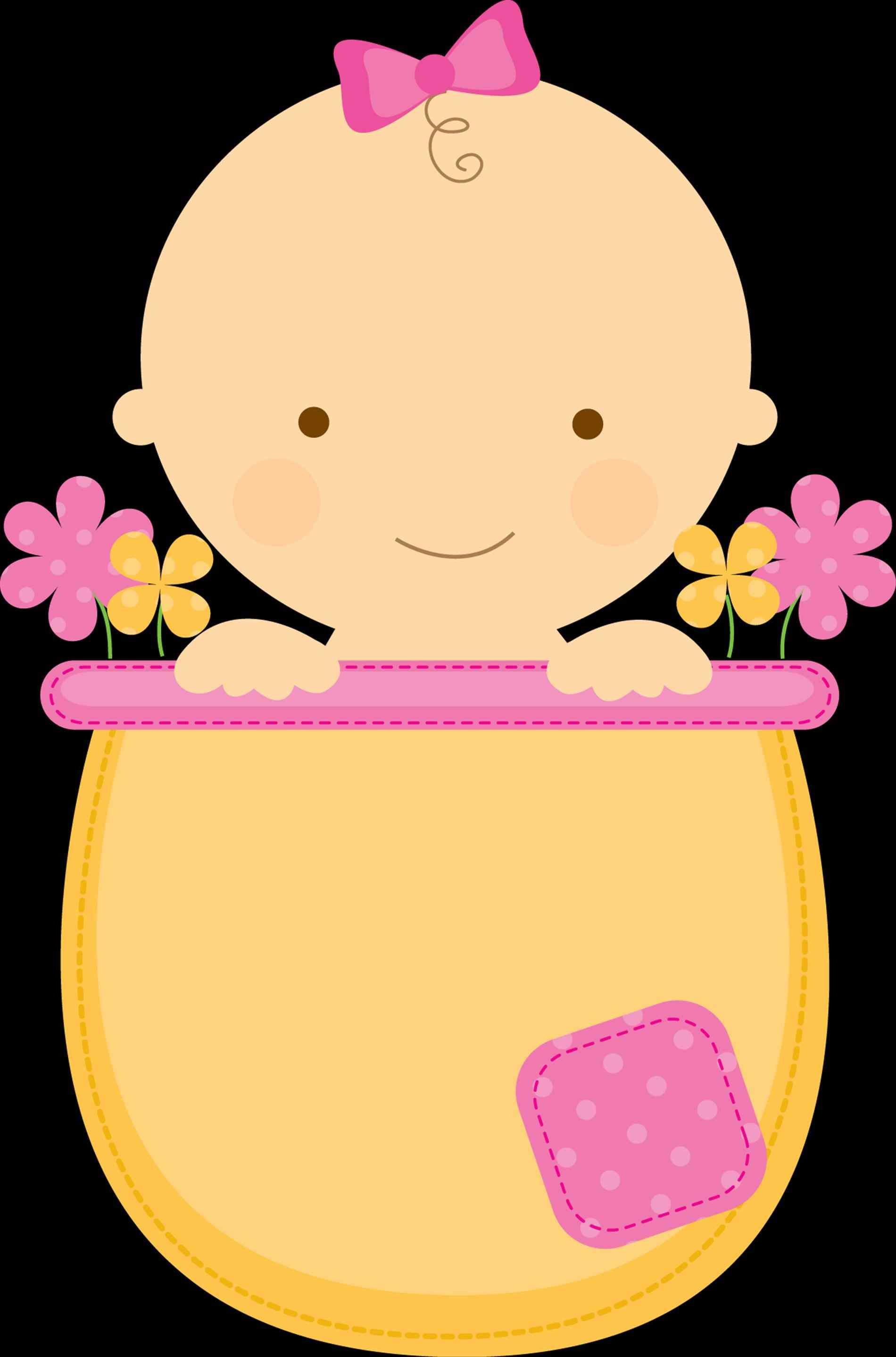 1900x2876 Baby Girl Shower Clip Art Png Ebb Onlinecom