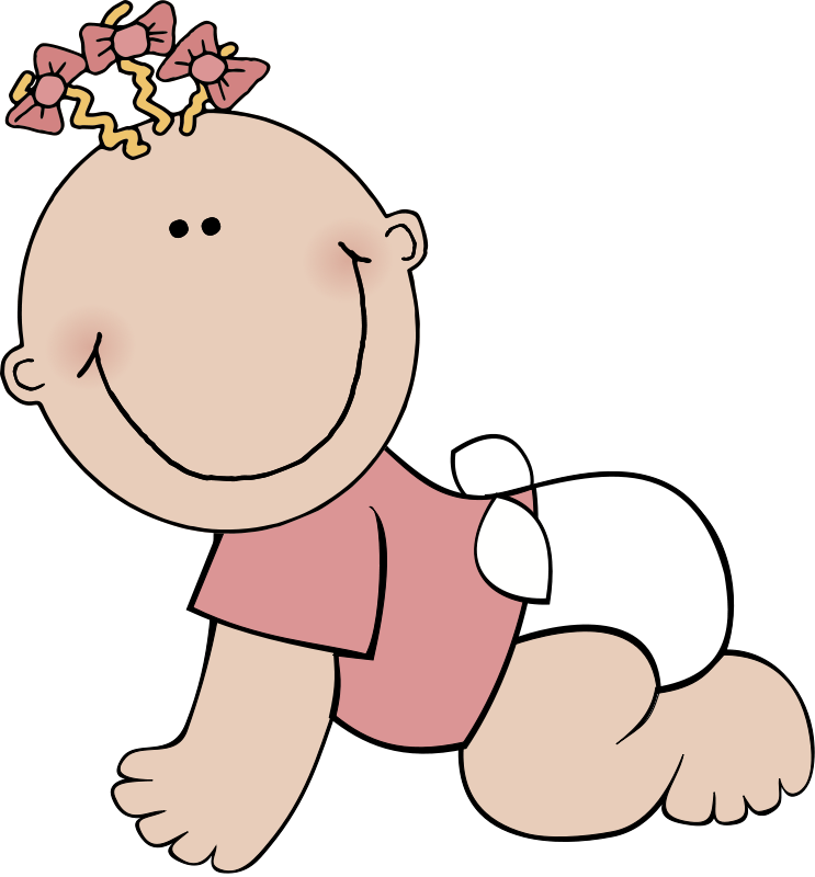 743x800 Baby Clipart Free Printable