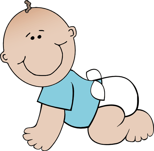 640x627 Baby Girl Free Baby Clipart Babies Clip Art And Boy Printable 8
