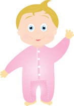 146x210 Free Baby Clipart