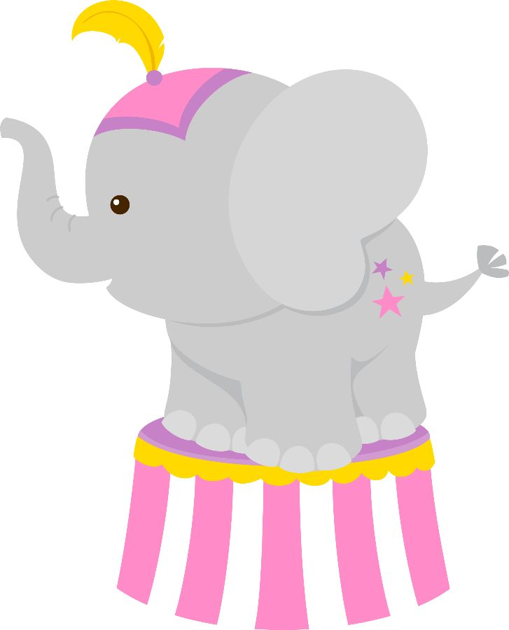 727x900 Elephant Clipart Carnival