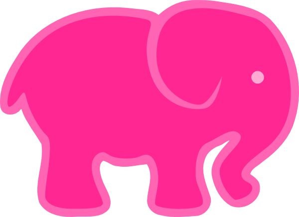 600x436 Elephant Clipart Small
