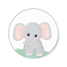 236x236 Free Baby Elephant Clipart