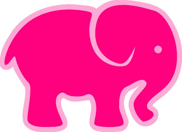 600x436 Image Of Elephant Clipart Outline Elephant Clip Art