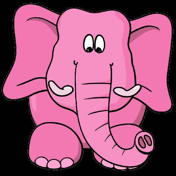 600x600 Pink Elephant'S