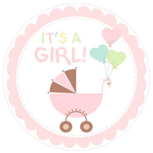 500x500 Baby Girl Shower Clipart