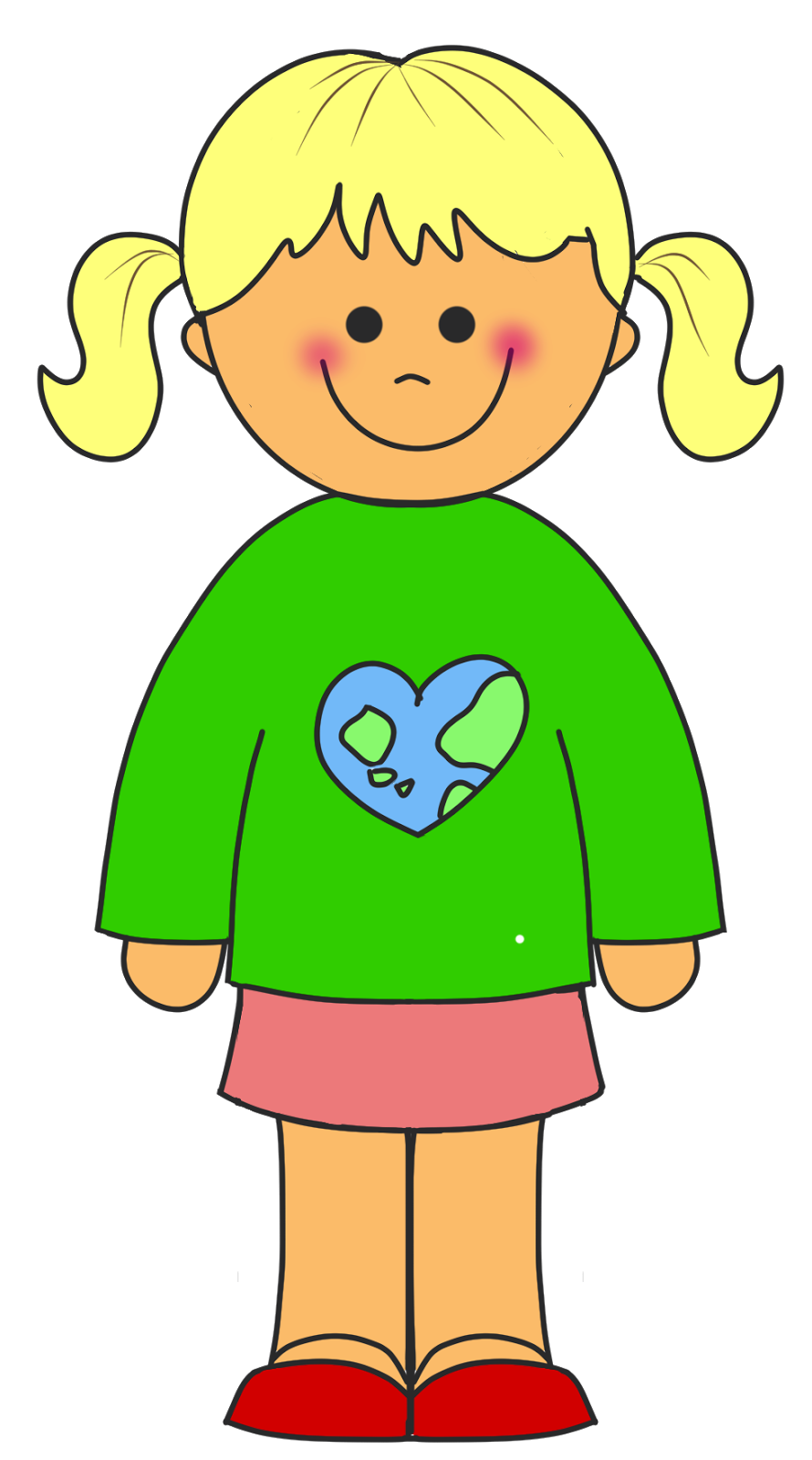 890x1600 Free Girl Clipart