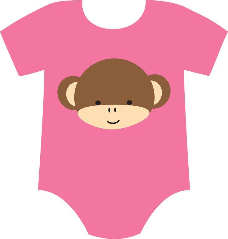 Baby Girl Onesies Clipart