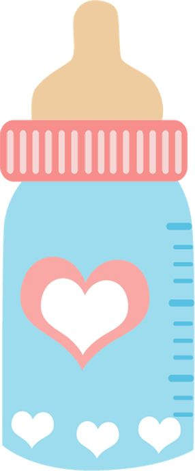 286x688 Baby Girl Bottle Clipart