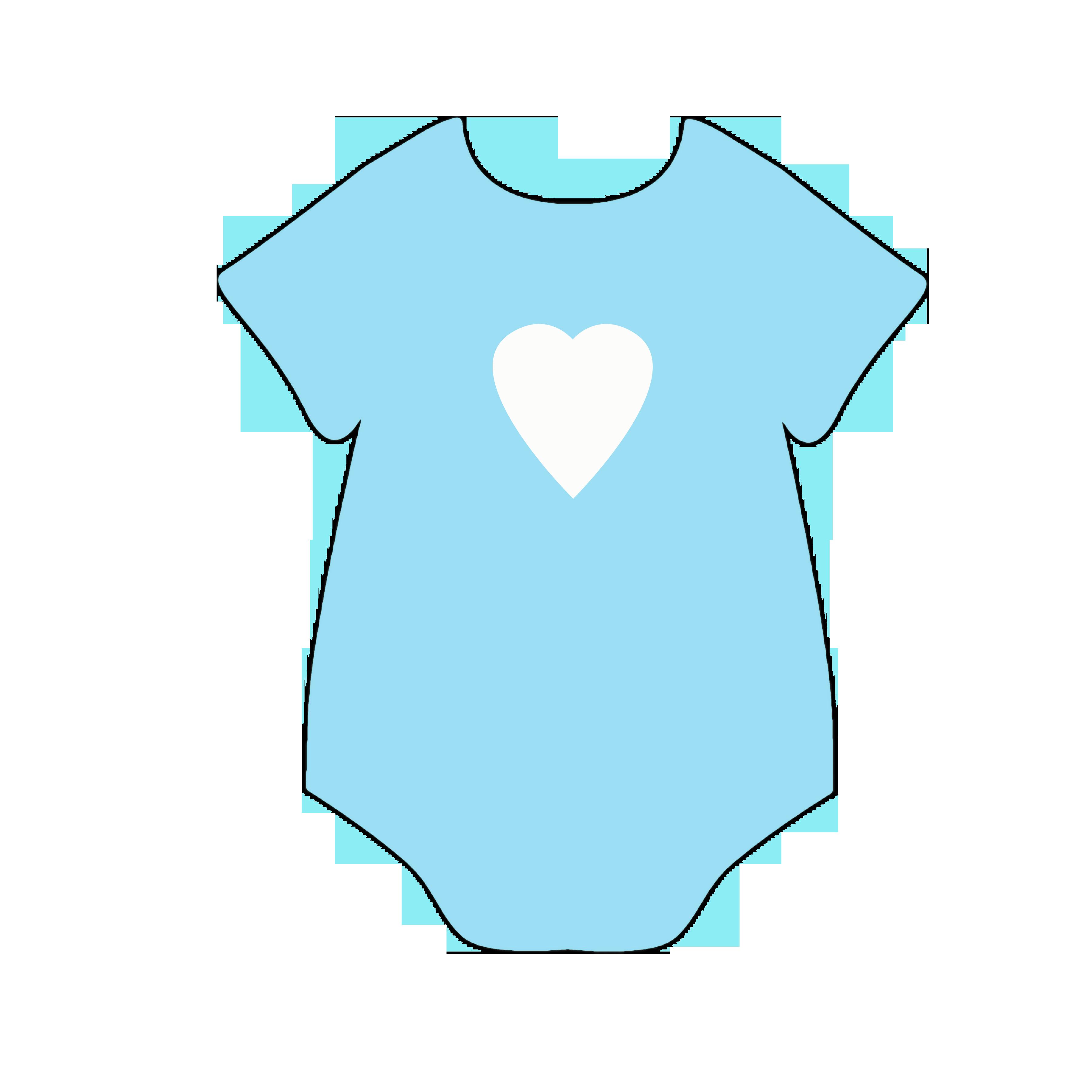 3600x3600 Baby Boy Onesie Clip Art