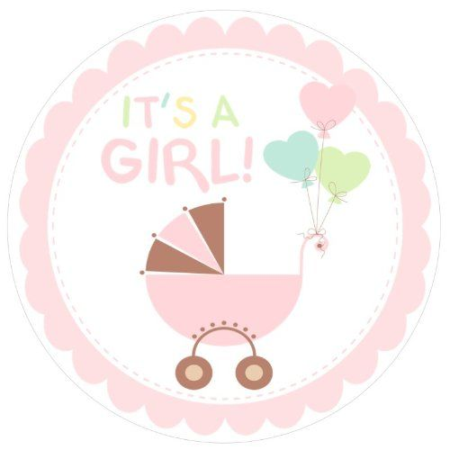 500x500 It's A Baby Girl Clipart