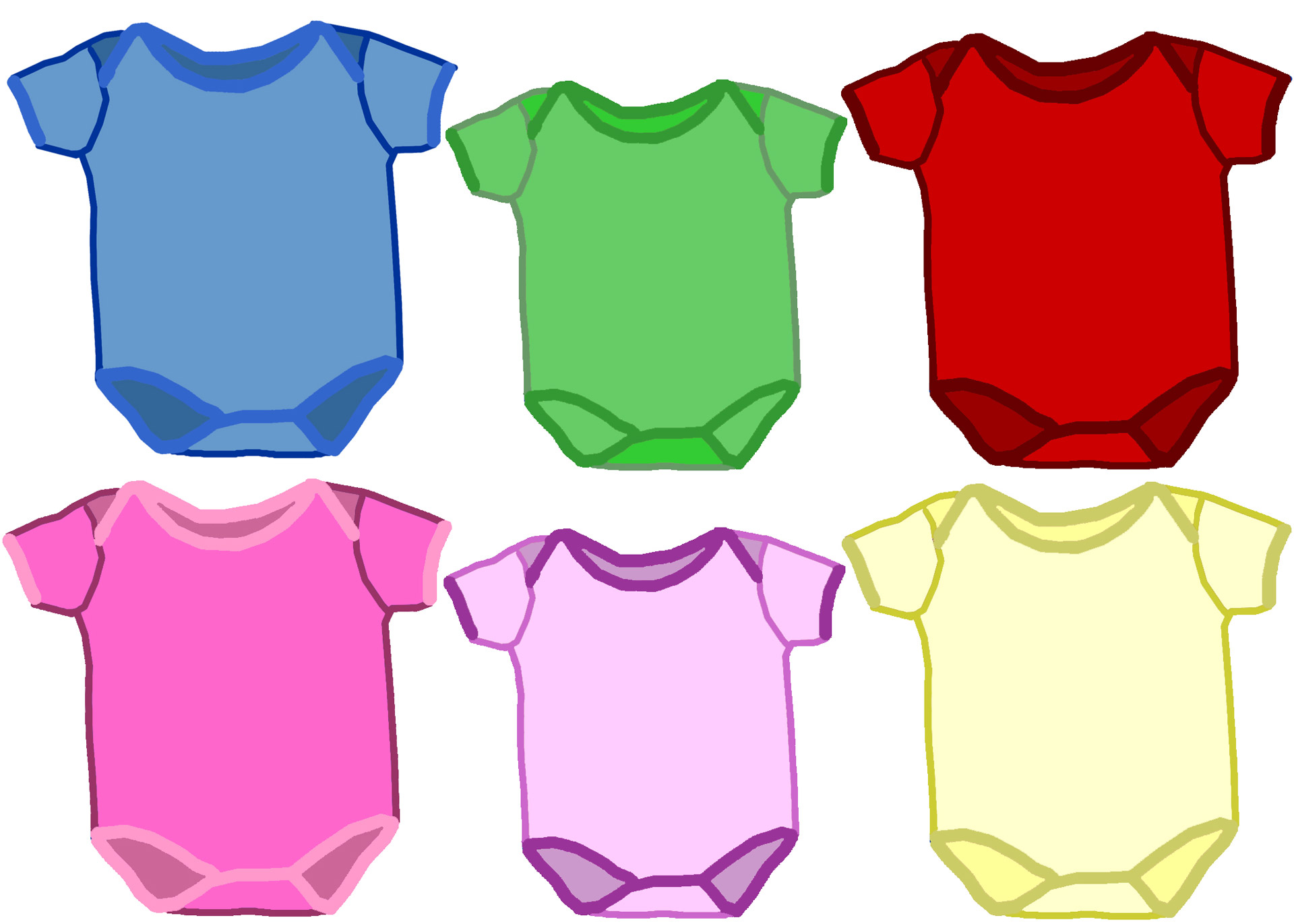 1920x1371 Multicolor Baby Onesies Free Stock Photo