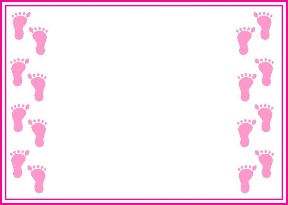 590x420 Printable Baby Borders And Backgrounds Clipart