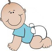 180x176 Newborn Baby Girl Clip Art, Vector Newborn Baby Girl