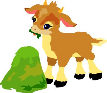 Baby Goat Clipart