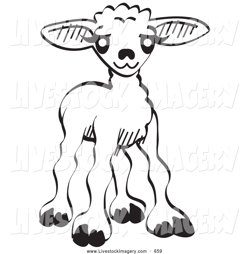 1024x1044 Cute Baby Goat Clipart