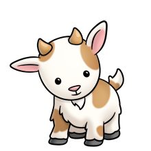 220x220 Cute Clipart Baby Goat