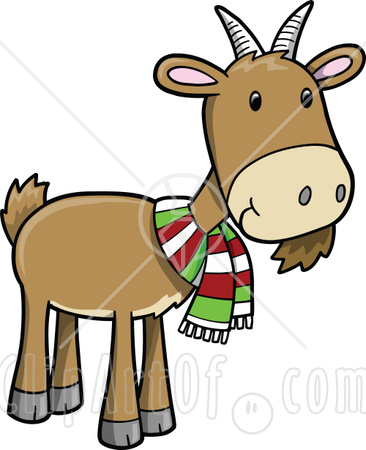 366x450 Goat Clipart Strong