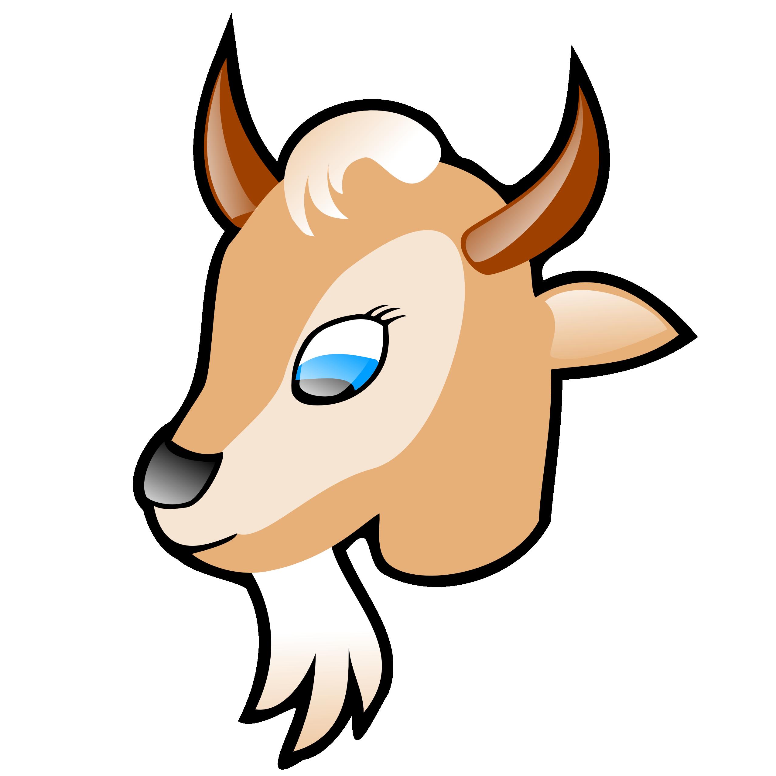 2555x2555 Goats Clip Art 4 Clipartix