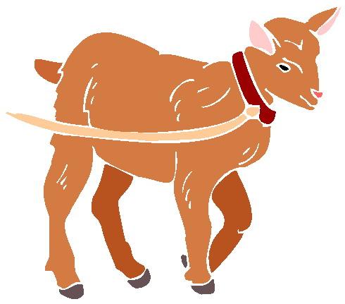 490x431 Goats Clip Art 5