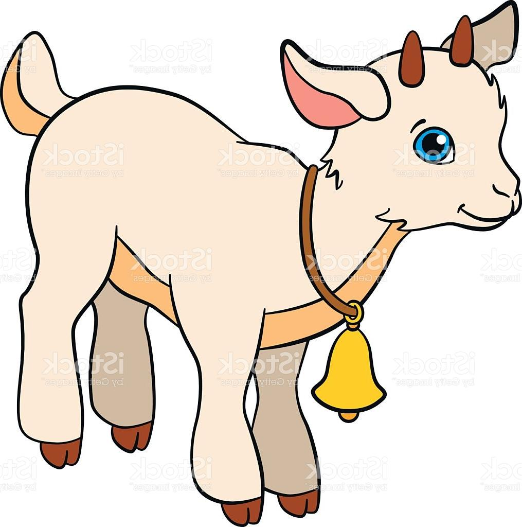 1015x1024 Top 10 Cartoon Farm Animals For Kids Little Cute Baby Goat Vector
