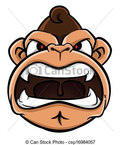 394x470 Gorilla Clipart Gorilla Face Clipart
