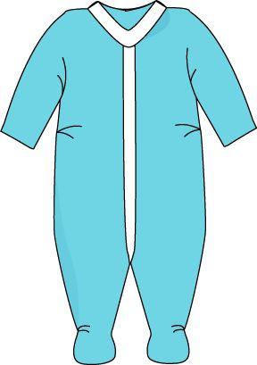 288x409 Baby Vest Clipart