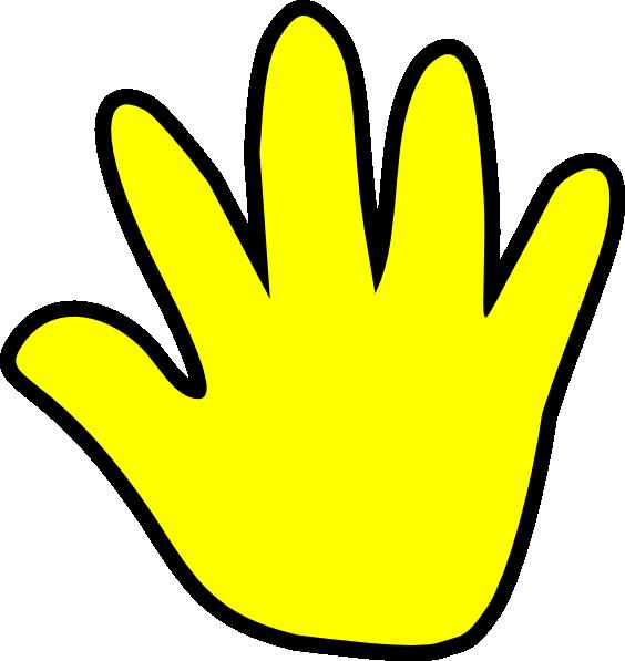 564x597 Baby Handprint Clipart