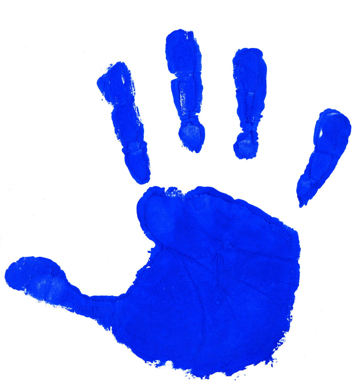 1221x1322 Child Handprint Clipart