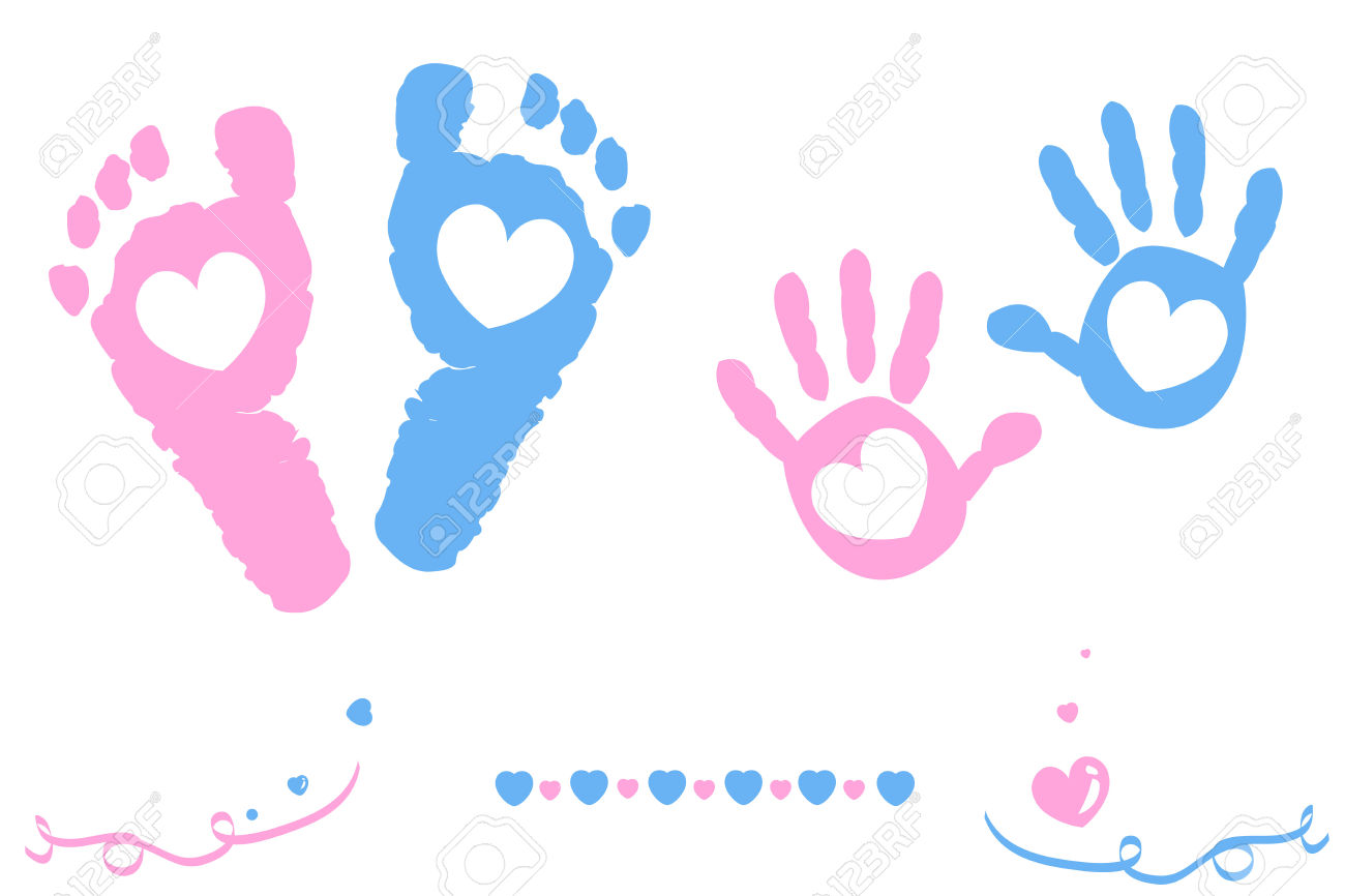1300x866 Colors Clipart Baby Hand