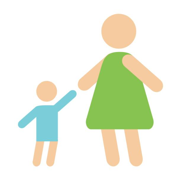 612x612 Mother And Baby Clipart Parent Child Relationship