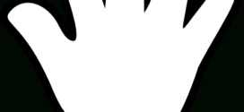 272x125 Baby Hand Print Clip Art Clipart Panda