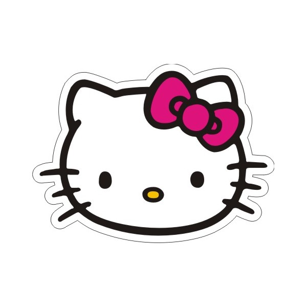 600x600 Bow Hello Kitty Clipart