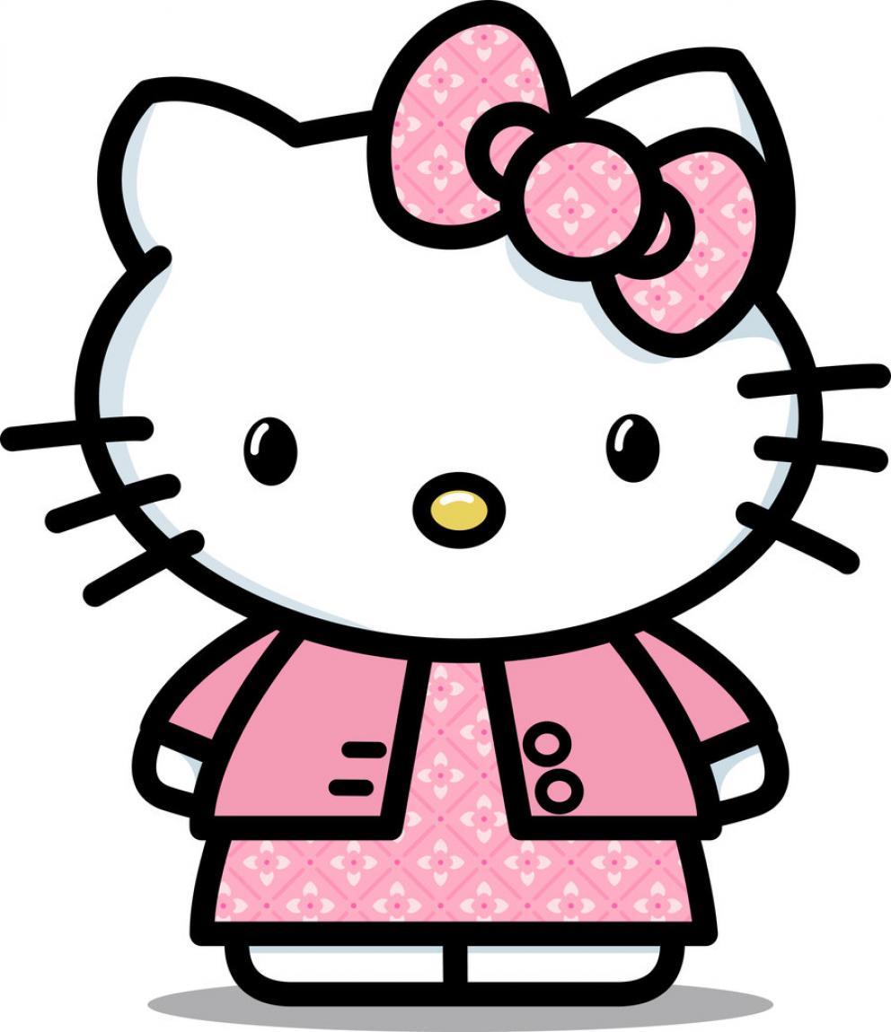 992x1150 Hello Kitty Baby Clipart