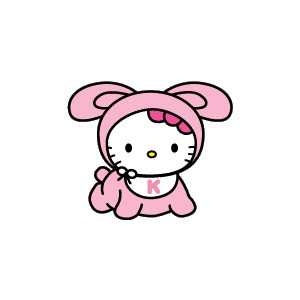 300x300 Hello Kitty Baby Clipart