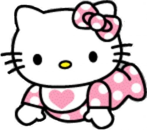 500x442 Hello Kitty Baby Clipart 2