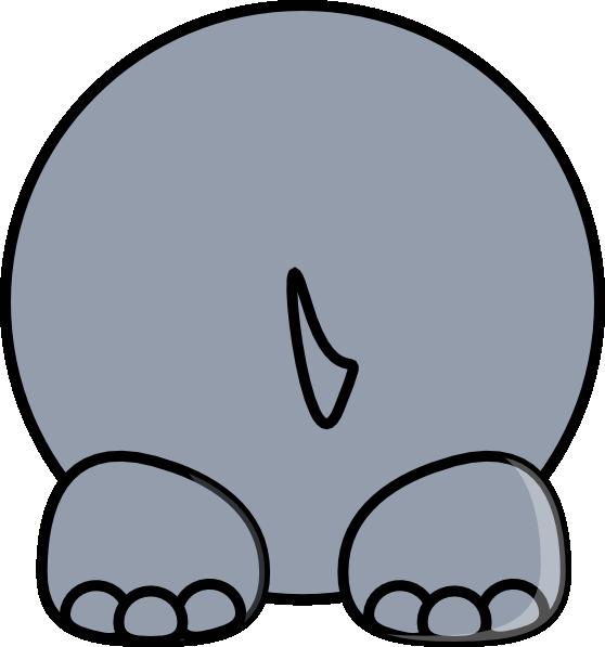 558x597 Hippo Back Clip Art