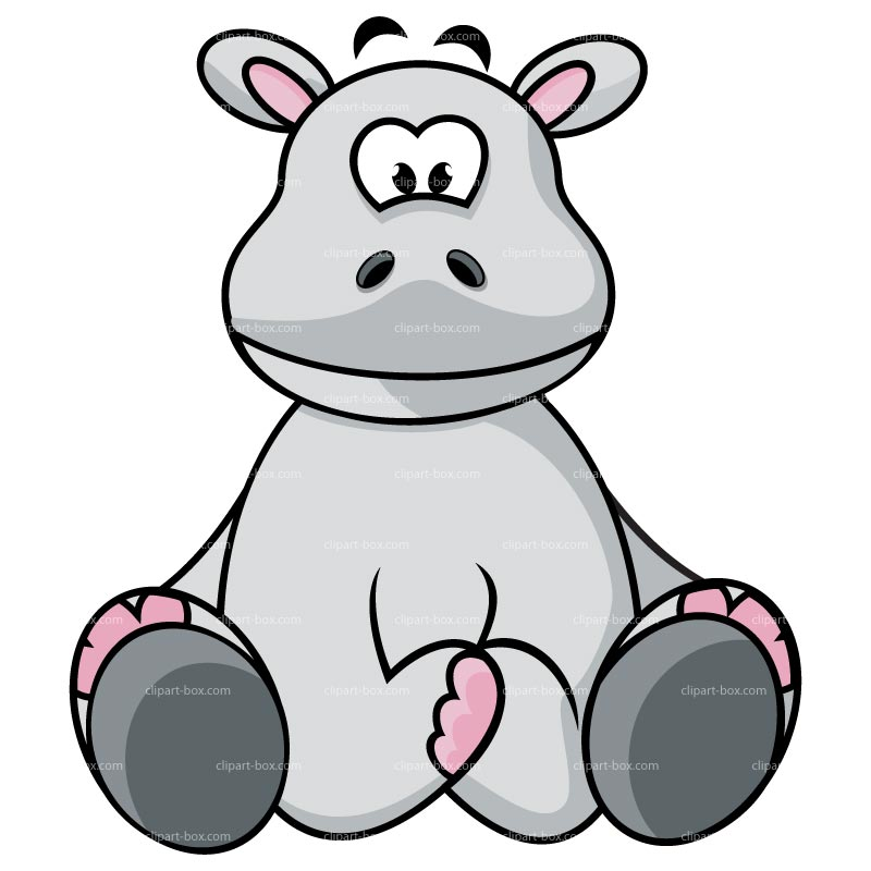 800x800 Hippo Clipart Baby Hippo