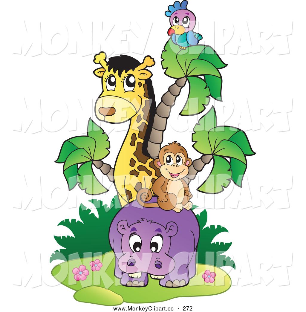 1024x1044 Hippo Clipart Jungle Animal